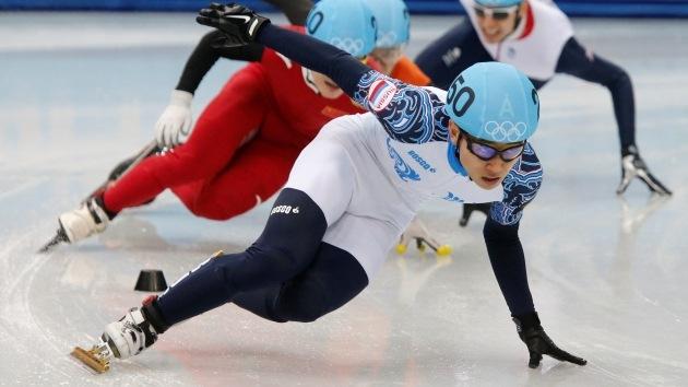 Patinador ruso, campeón de los JJ.OO. en pista corta
