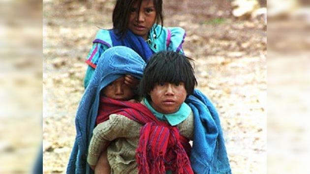 La mortalidad entre los niños indígenas es un 60% más alta que en menores de otras etnias