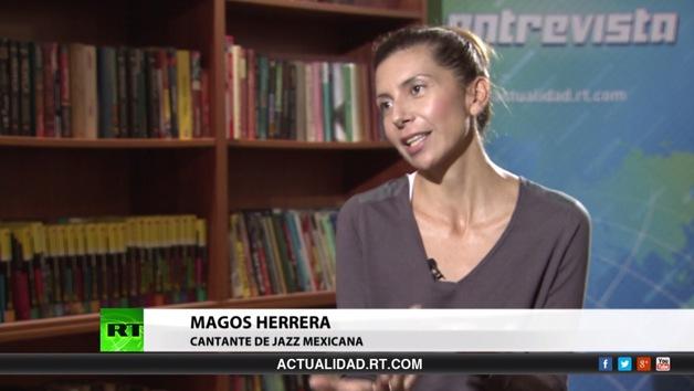 Entrevista con Magos Herrera, cantante de jazz mexicana