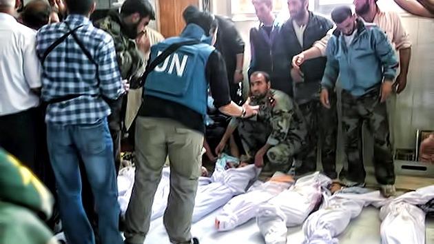 La ONU condena la masacre en Siria que dejó más de cien civiles muertos