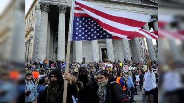 Récord de 'indignados' en la calles de Nueva York