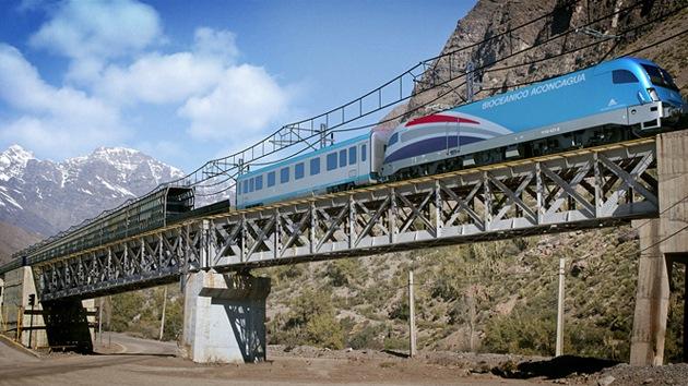 Un ferrocarril transandino para agilizar el comercio entre Chile y Argentina
