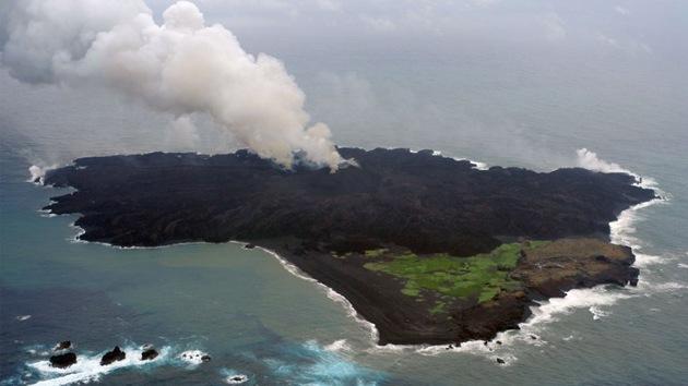 Peligro de tsunami en Japón por el posible derrumbe de una isla volcánica