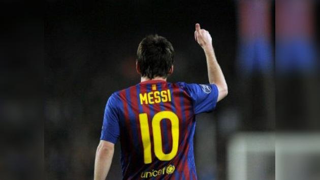Lionel Messi, máximo goleador del fútbol europeo en una temporada