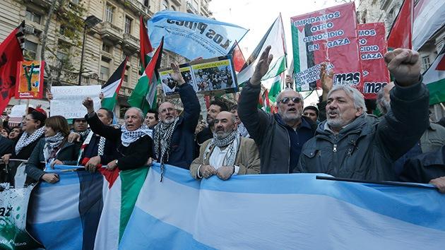 Argentina condena la operación militar terrestre de Israel en Gaza