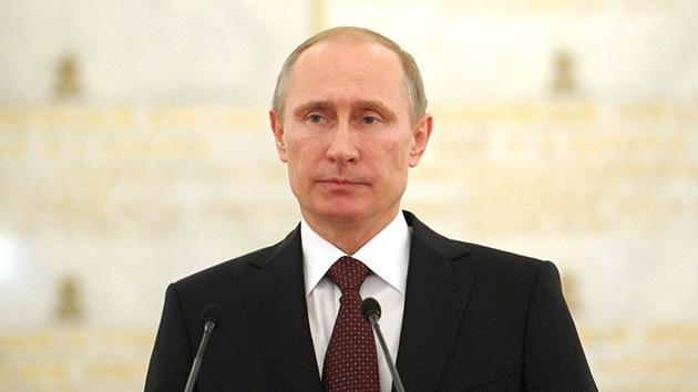 Putin propone a Obama considerar medidas de la comunidad internacional para estabilizar Ucrania