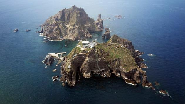 Un mapa japonés otorga la soberanía de las islas Dokdo a Corea del Sur