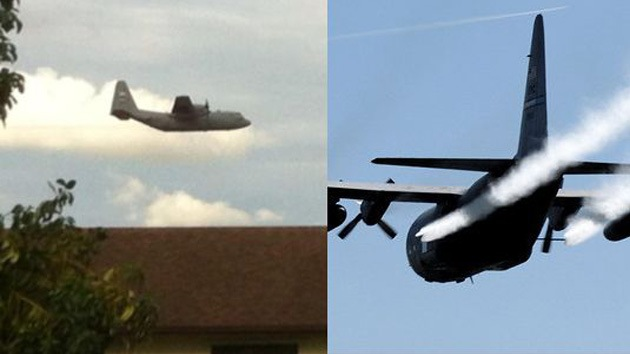 Indignación en EE.UU.: Aviones militares fumigan a ciudadanos