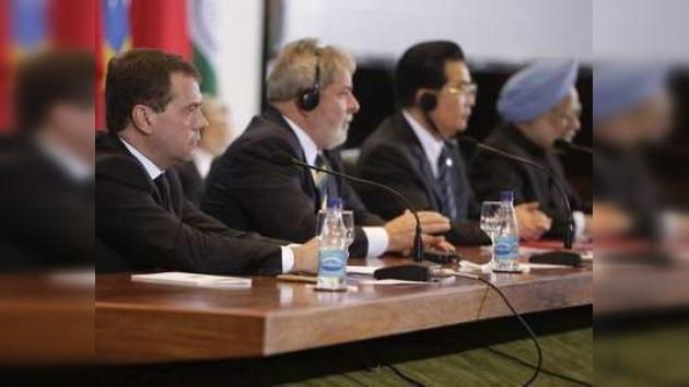 BRIC solicita orden mundial justo y democrático