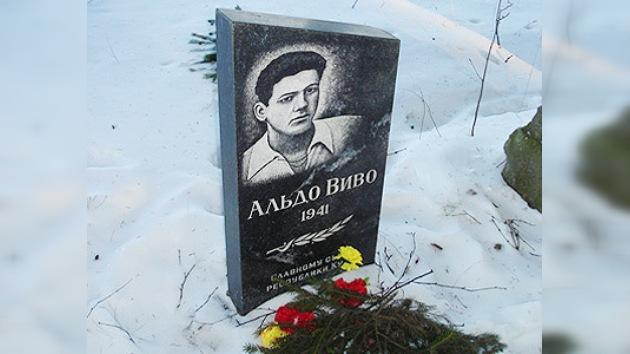 Rinden tributo a Aldo Vivó, héroe cubano en la Gran Guerra Patria