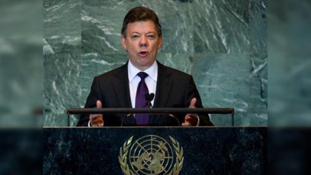 Santos pide a Israel y Palestina que vuelvan a dialogar de paz