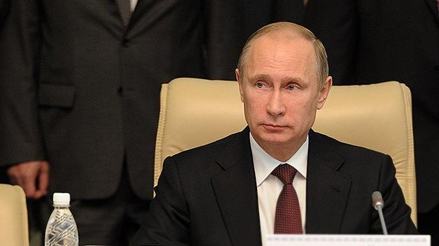 Putin: Damasco muestra la seriedad de su intención de prohibir las armas químicas