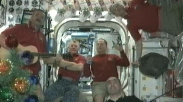 Video: Mensaje musical de año nuevo desde el espacio