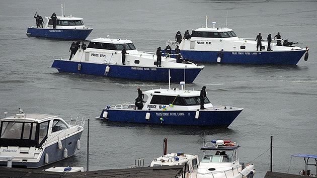 Detienen en Nigeria un barco ruso por supuesto contrabando de armas