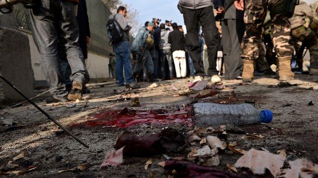 Gran ataque coordinado junto al Parlamento de Afganistán
