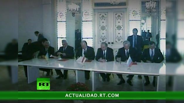 El tratado que terminó con la URSS