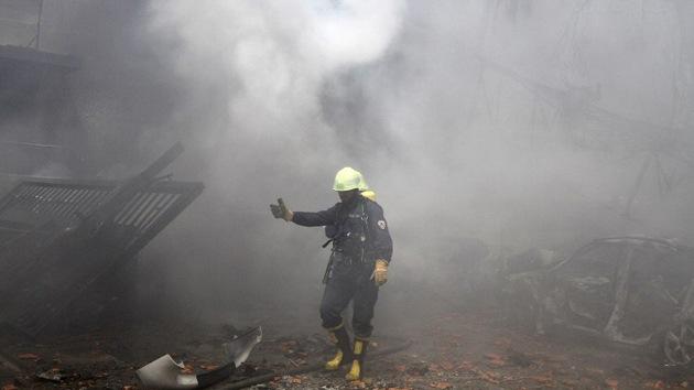 Se produce una fuerte explosión cerca del aeropuerto militar de Damasco