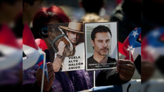 Identifican los restos del presentador chileno Felipe Camiroaga