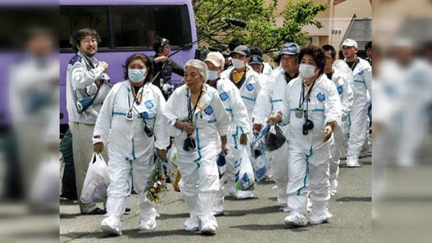 Japoneses evacuados visitaron por primera vez sus casas en zona de exclusión