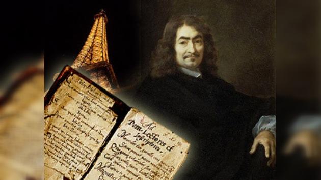 Una carta robada de Descartes vuelve a Francia