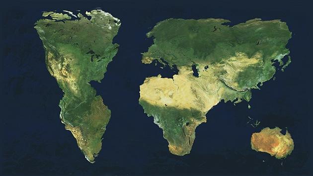 Mapa: Así ven los estudiantes estadounidenses nuestro planeta