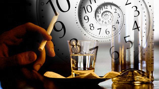 Maus hábitos estão avançando o relógio biológico: 30 minutos removidos vida diária