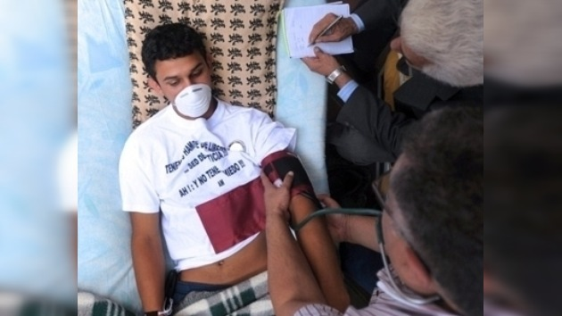 El secretario General de la OEA solicita suspender la huelga de hambre