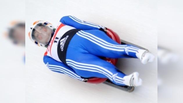 Tatiana Ivánova obtiene la medalla de oro en Campeonato Europeo de Luge
