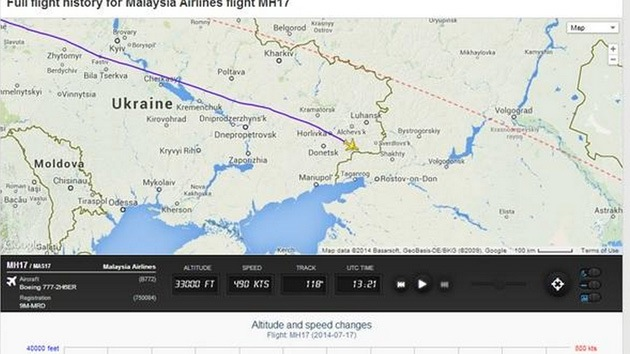"""""""Ciertos hechos indican que el avión malasio fue derribado por el Ejército ucraniano"""""""