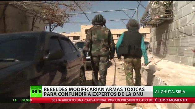 RT en Siria: Las contradicciones de las armas químicas
