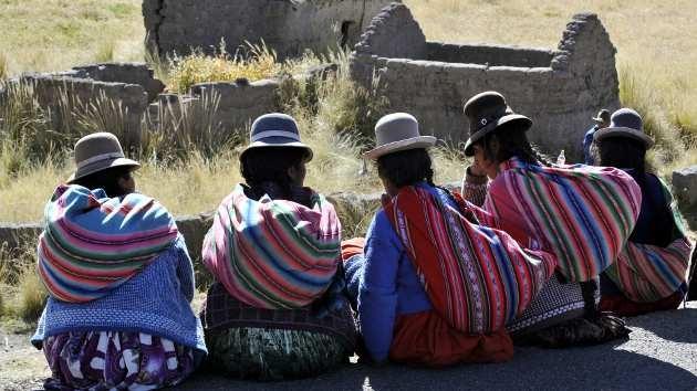 Bolivia reconoce mediante una ley todas las lenguas que se hablan en el país