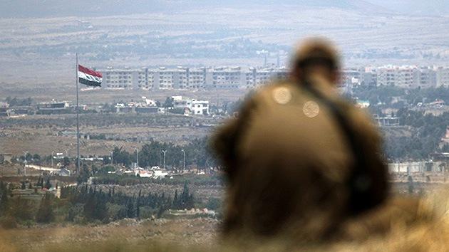 Disparan varios proyectiles de mortero desde Siria contra los Altos del Golán