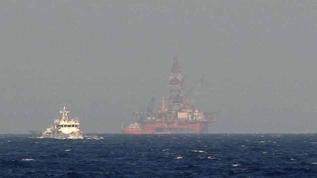Mapa: China instala 4 plataformas petrolíferas más en las aguas en disputa
