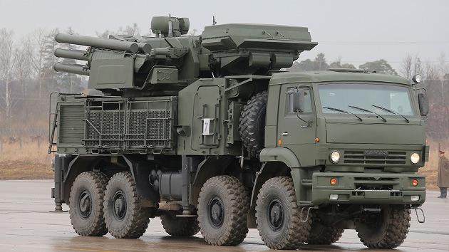 Los misiles rusos Pántsir-S1 'poblarán' rascacielos y buques