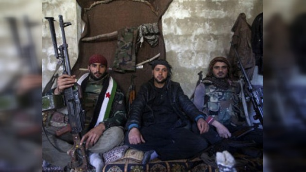 La rebelión siria 'vacía' el mercado negro de armas