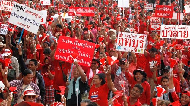 Dos muertos en un atentado contra la oposición tailandesa