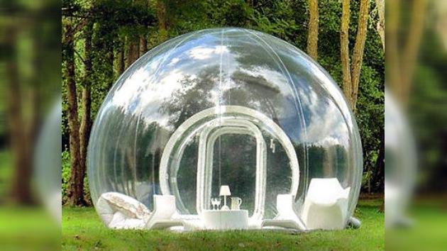Cómo vivir sin pompa encerrado en una burbuja