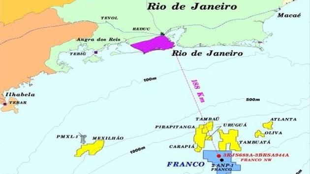 Petrobras encuentra un nuevo yacimiento de petróleo en el Atlántico