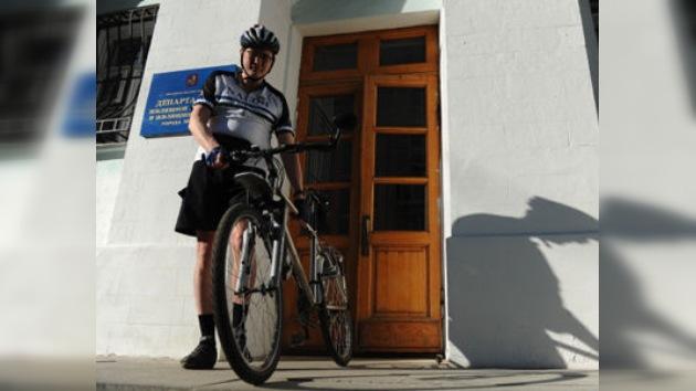 Gimnasia y bicicleta, tarea extra para empleados públicos