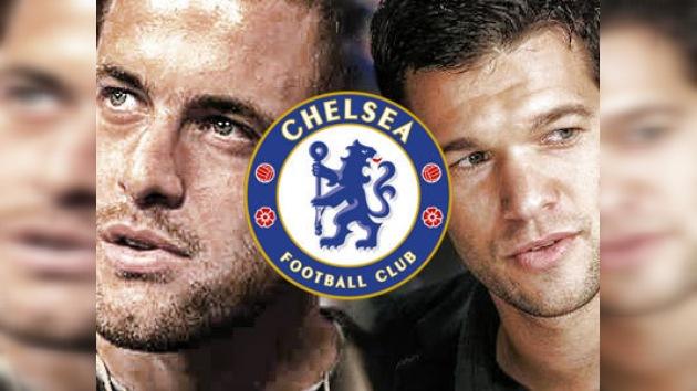 Michael Ballack y Joe Cole abandonan el Chelsea
