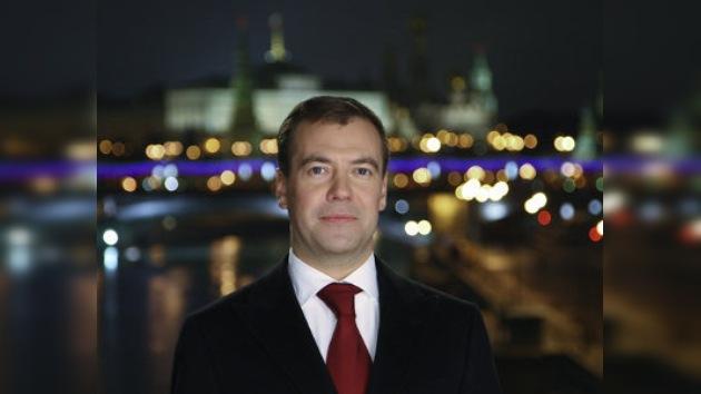 Discurso del Año Nuevo del Presidente de Rusia Dmitri Medvédev