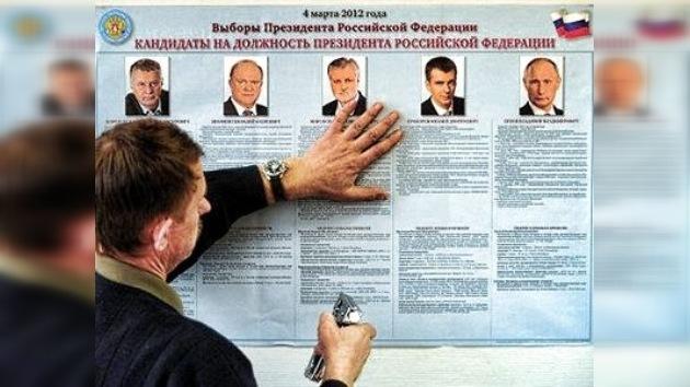 Los rusos eligen a su presidente