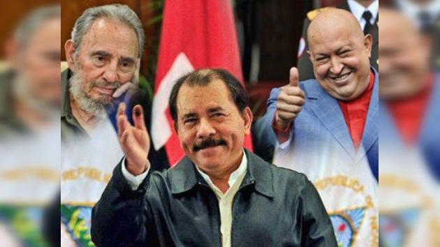 Nicaragua: Ortega dedica su victoria al ALBA