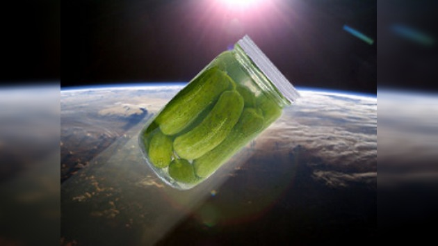 El equipo de la EEI saboreará unos pepinos encurtidos en la órbita