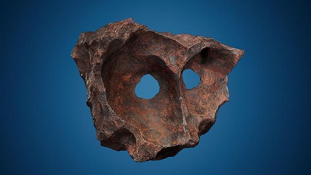 Sale a subasta el meteorito con rostro