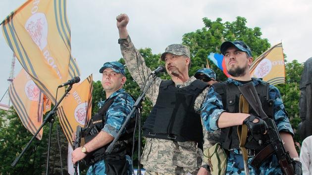 El sudeste de Ucrania exige a Kiev que retire sus tropas para empezar el diálogo