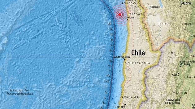 Un sismo de magnitud 5,1 sacude Chile