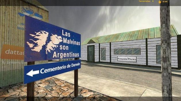 Desembarco 'pirata' contra la empresa creadora del videojuego sobre las Malvinas