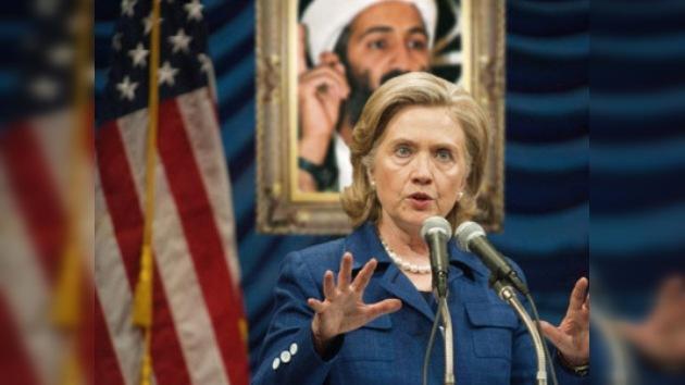 Hillary Clinton: Osama bin Laden está oculto en Pakistán