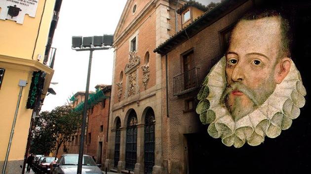 En busca de los huesos de Cervantes